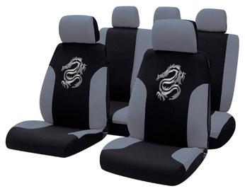 Bottari R.Evolution Tribal Seat Cover Set Black Grey