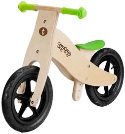 """Līdzsvara velosipēds TupTup Wooden Bike TUPTUP-LI, brūna/zaļa, 12"""""""
