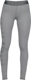 Under Armour Womens Favourite Wordmark Leggings 1329318-012 Grey M