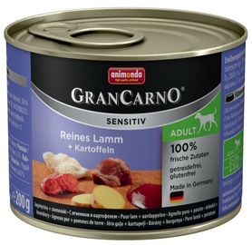 Animonda GranCarno Sensitiv Lamb 200g