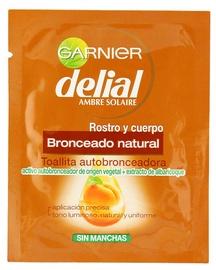 Pašiedeguma salvetes Garnier Delial Natural Self-Tanning Wipes