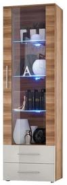 Шкаф-витрина ASM Neo I Plum w/ White Drawers, 60x40x190 см