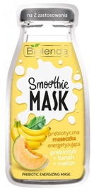 Маска для лица Bielenda Smoothie Face Mask With Prebiotic Banana & Melon, 10 г