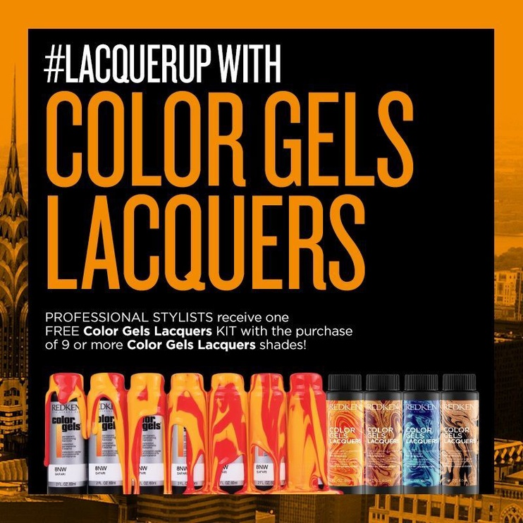 Redken Color Gels Lacquers 60ml 7NA