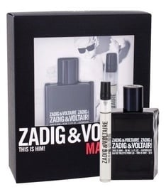Набор для мужчин Zadig & Voltaire This Is Him! 50 ml EDT + 10 ml EDT