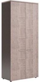Skyland Xten XMC 85.1 Office Wardrobe 85.6x119x43.2cm Sonoma Oak/Dark Wood