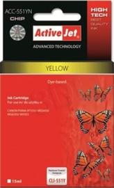 ActiveJet ACC-551YN Cartridge 10ml Yellow