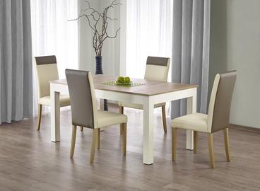Обеденный стол Halmar Seweryn Sonoma Oak/White, 1600 - 3000x900x760 мм