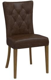 Ēdamistabas krēsls Home4you Westbury Brown
