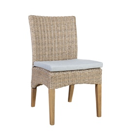 Dārza krēsls Home4you Henry, smilškrāsas, 47x60x87 cm