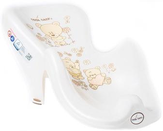Горка в ванночку Tega Baby Anti-Slip Bath Seat Teddy Bear MS-003 Pearl Beige