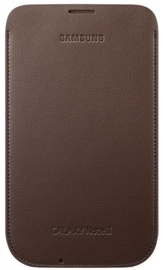 Samsung Original Leather Pouch Case for Samsung Galaxy Note 2 Chocolate Brown