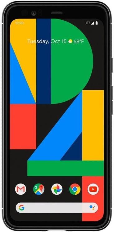 Spigen Rugged Armor Back Case For Google Pixel 4 Matte Black