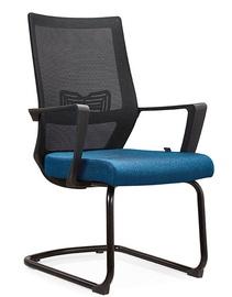 MN D826 Office Chair Black/Blue