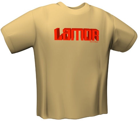 GamersWear Lamor T-Shirt Brown XL