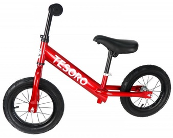 Tesoro PL-12 Balance Bike Red Mettalic