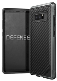 X-Doria Defense Lux Carbon Fiber Back Cover For Samsung Galaxy Note 8 Black