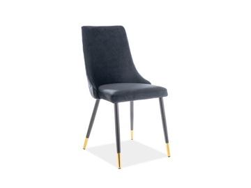Ēdamistabas krēsls Signal Meble Piano Black, 1 gab.