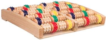 inSPORTline Wooden Foot Massage Board Rangkai 20x25.5cm