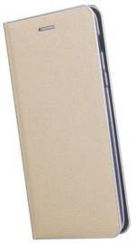 TakeMe Metal Edge Shine Book Case For Samsung Galaxy S10 Plus Gold