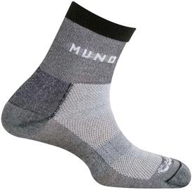 Носки Mund Socks Cross Mountain Grey, 34-37, 1 шт.