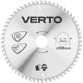 Verto Circular Saw Blade 200x30mm 60T
