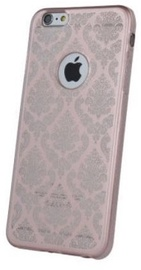 Mocco Ornament Back Case For Apple iPhone X Rose Gold