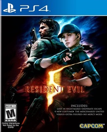 PlayStation 4 (PS4) spēle Resident Evil 5 HD PS4