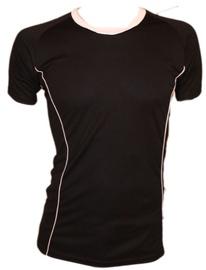 Bars Mens Football Shirt Black/White 185 L