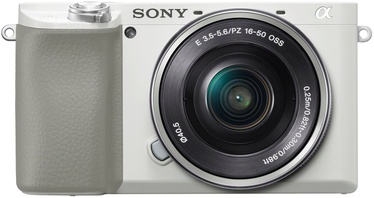Sony Alpha A6100 White + 16-50mm
