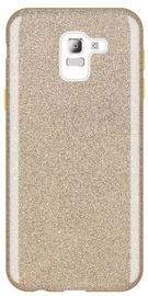 Wozinsky Glitter Shining Back Case For Samsung Galaxy J6 Gold