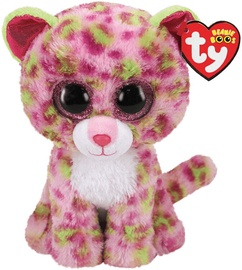 TY Beanie Boos Lainey Pink Leopard 24cm
