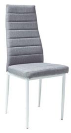 Ēdamistabas krēsls Signal Meble H266 White Grey, 1 gab.