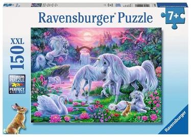 Puzle Ravensburger Unicorns In The Sunset Glow 10021, 150 gab.