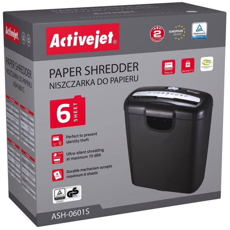 Papīra smalcinātājs ActiveJet ASH-0601S, 7.2 mm