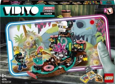 Konstruktors LEGO VIDIYO Punk Pirate Ship 43114, 615 gab.