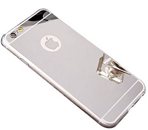 Blun Mirror Back Case For Xiaomi Redmi 5 Silver
