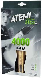 Atemi Ping Pong Racket 4000 Balsa Anatomical