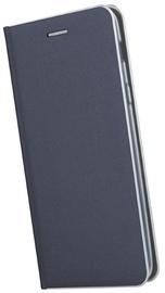 TakeMe Metal Edge Shine Book Case For Samsung Galaxy A7 A750 Dark Blue