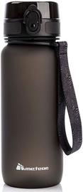 Бутылка для воды Meteor 74584, черный, 0.65 л