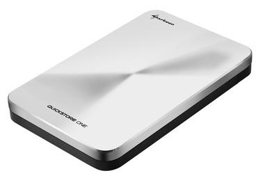 "Sharkoon QuickStore ONE 2.5"" USB 3.1 Enclosure Silver"