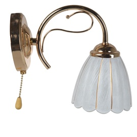 Stefan Wall Lamp E14 40W Gold