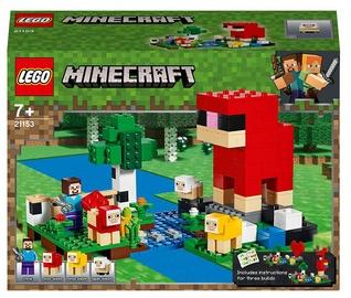 Konstruktors LEGO Minecraft Vilnas ferma 21153, 260 gab.