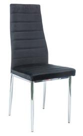 Ēdamistabas krēsls Signal Meble H-261 Black, 1 gab.