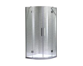 Dušas kabīne Masterjero K-581B, pusapaļā, bez paliktņa, 900x900x1950 mm