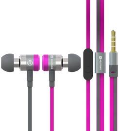 Наушники Swissten SuperBass YS900 in-ear, розовый