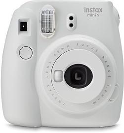 Fujifilm Instax Mini 9 Smoky White  + 10SH pack + Case + LED Strap