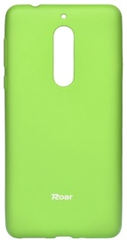 Roar 360 Colorful Jelly Back Case For Nokia 5 Green