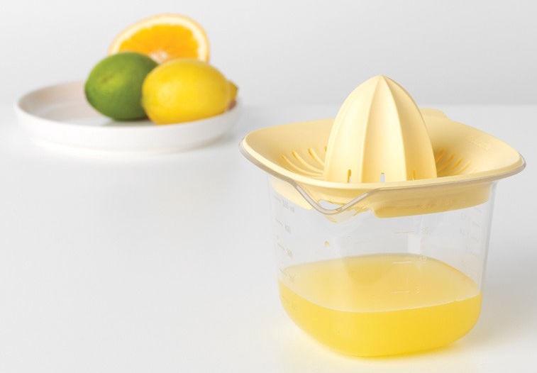 Brabantia Juicer plus Measuring Jug Tasty+ 0.5l Vanilla Yellow