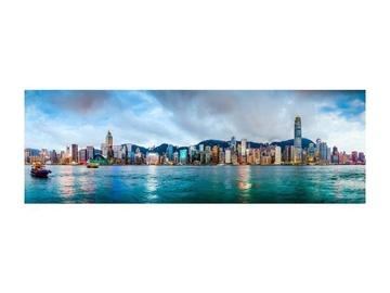 Fotoattēls Signal Meble Hongkong Glass Painting 160x60cm